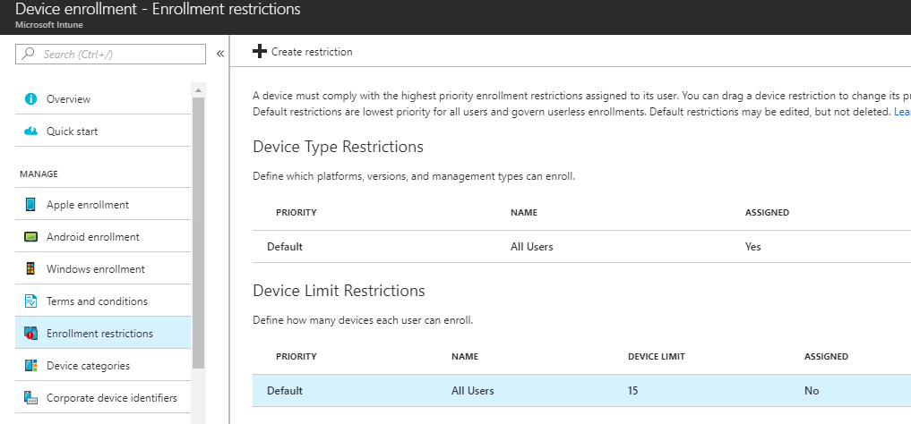 Increase Intune Device Limit