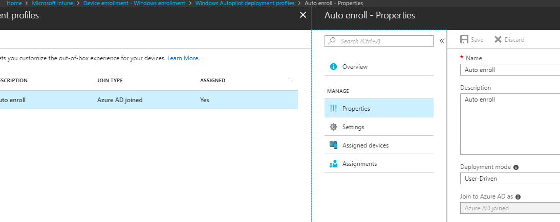 add user to intune auto pilot