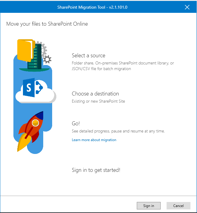 Step by Step Migration of File Shares to Sharepoint Online