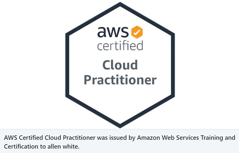 AWS Cloud Practitioner – Done
